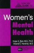 Concise Guide to Women's Mental Health