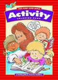 First Step Bible Activity Color Book: A Building Blocks Book for Toddlers