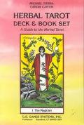 Herbal Tarot Deck & Book Set A Guide to the Herbal Tarot