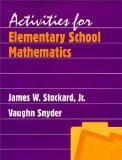 Activities for Elementary School Mathematics