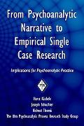 From Psychoanalytic Narrative to Empirical Single Case Research: Implications for Psychoanal...