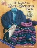 Learn to Knit a Sweater