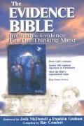 Evidence Bible Irrefutable Evidence for the Thinking Mind