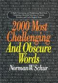 2000 Most Challenging Obscure Words