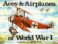 Aces and Airplanes of WW I - Bellerophon Books - Coloring Book