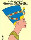 Coloring Book of Queen Nefertiti