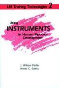 Using Instruments in Human Resource Development - J. William Pfeiffer - Paperback