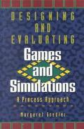 Designing+evaluating Games+simulations