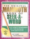 Original Mammoth Book of Seek-A-Word