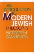 Introduction to Modern Jewish Philosophy