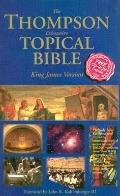 Thompson Chain-Reference Topical Bible King James Version/Multi-Colored/Words of Christ in Red