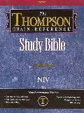 Thompson Chain Reference Bible-NIV - Kirkbride Bible Company - Hardcover