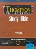 Thompson Chain-Reference Study Bible: New American Standard Bible (NASB), Black Bonded Leath...
