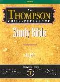B-KJV-507 Thompson Chain-Reference - Gray