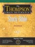 B-KJV-507 Thompson Chain-Reference Indexed Gray - Krikbride - Other Format