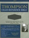 Thompson Chain-Reference Bible: Kjv(Black)