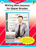 Writing Mini-lessons for Upper Grades The Big-blocks Approach