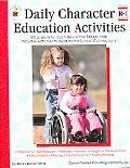 Daily Character Education Activities Grade Level-kindergarden