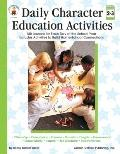 Daily Character Education Activities Grade Level 2-3
