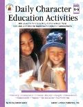 Daily Character Education Activities Grade Level 4-6