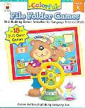 Colorful File Folder Games Grade K Skill-building Center Activities for Language Arts and Math