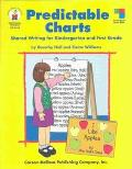 Predictable Charts Shared Writing for Kindergarten And First Grade