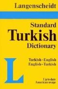 Langenscheidt's Standard Turkish Dictionary/Turkish-English/English-Turkish