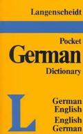 Langenscheidt's German Pocket Dict.