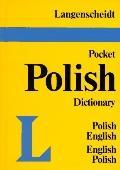 Langenscheidt's Pocket Polish Dictionary English- Polish Polish-English