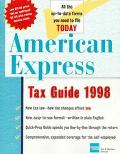 American Express Tax Guide 1998 - American Express Tax & Business - Paperback