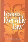 Lessons of Everyday Law/Le Droit Du Quotidien