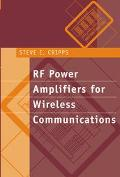 Rf Power Amplifiers for Wireless Communications