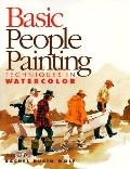 Basic People Painting Techniques in Watercolor - Rachel Rubin Wolf - Paperback
