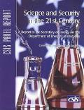 Science and Security in the 21st Century A Report to the Secretary of Energy on the Departme...