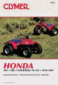 Honda Atc Trx Fourtrax 70-125 1970-1987 Service, Repair, Maintenance