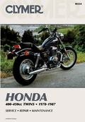 Honda 400-450Cc Twins 1978-1987 Service Repair Maintenance