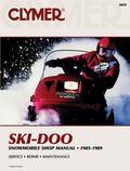 Ski-Doo Snowmobile Shop Manual 1985-1989