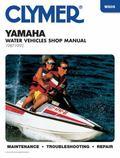 Clymer Yamaha Water Vehicles Shop Manual 1987-1992