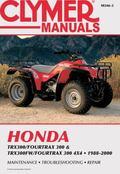 Honda Trx300/Fourtrax 300 & Trx300Fw/Fourtrax 300 4X4 1988-2000