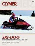 Clymer Ski-Doo Snowmobile Shop Manual 1990-1995