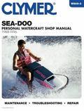 Sea-Doo Water Vehicles Shop Manual 1988-1996