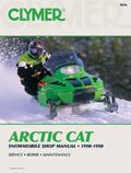 Clymer Arctic Cat Snowmobile Shoe Manual 1990-1998