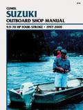 Clymer Suzuki Outboard Shop Manual 9.9-70 Hp Four-Stroke  1997-2000