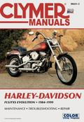 Clymer Harley-Davidson Fx/Fl Softail Big-Twin Evolution 1984-1999