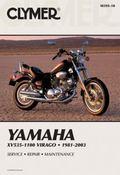 Clymer Yamaha XV535-1100 Virago 1981-2003: Service, Repair, Maintenance (Clymer Motorcycle R...