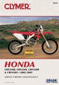 Clymer Honda CRF250R, CRF250X, CRF450R & CRF450X 2002-2005
