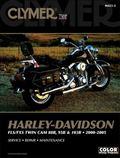 Clymer Harley Davidson Fls/fxs twin cam 88B, 95B & 103B, 2000-2005