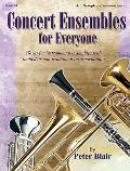 Concert Ensembles for Everyone : Works for Instrumental Ensembles with Limited or Non-Tradit...