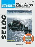 Selco Mercruiser Stern Drives 2001-06 Repair Manual, All Gasoline Engines and Drives