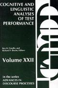 Cognitive and Linguistic Analyses of Test Performance